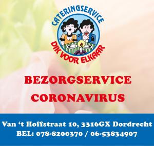 Coronavirus maaltijden